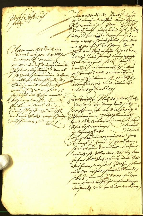 Civic Archives of Bozen-Bolzano - BOhisto Minutes of the council 1563