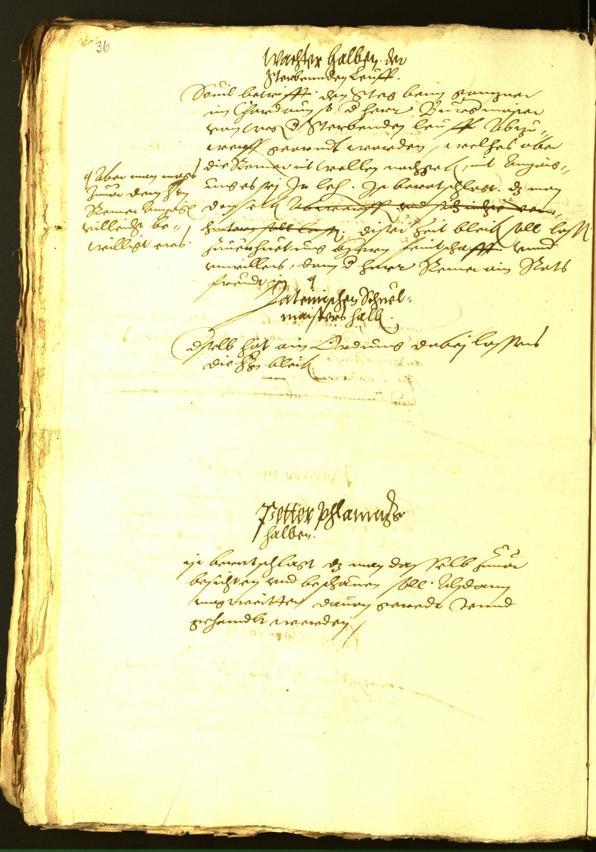 Archivio Storico della Città di Bolzano - BOhisto protocollo consiliare 1563