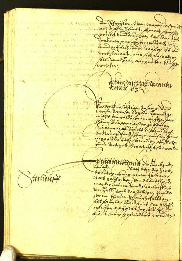Civic Archives of Bozen-Bolzano - BOhisto Minutes of the council 1563