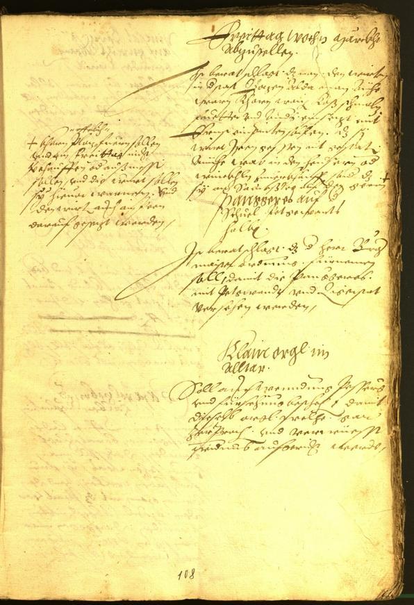 Archivio Storico della Città di Bolzano - BOhisto protocollo consiliare 1564