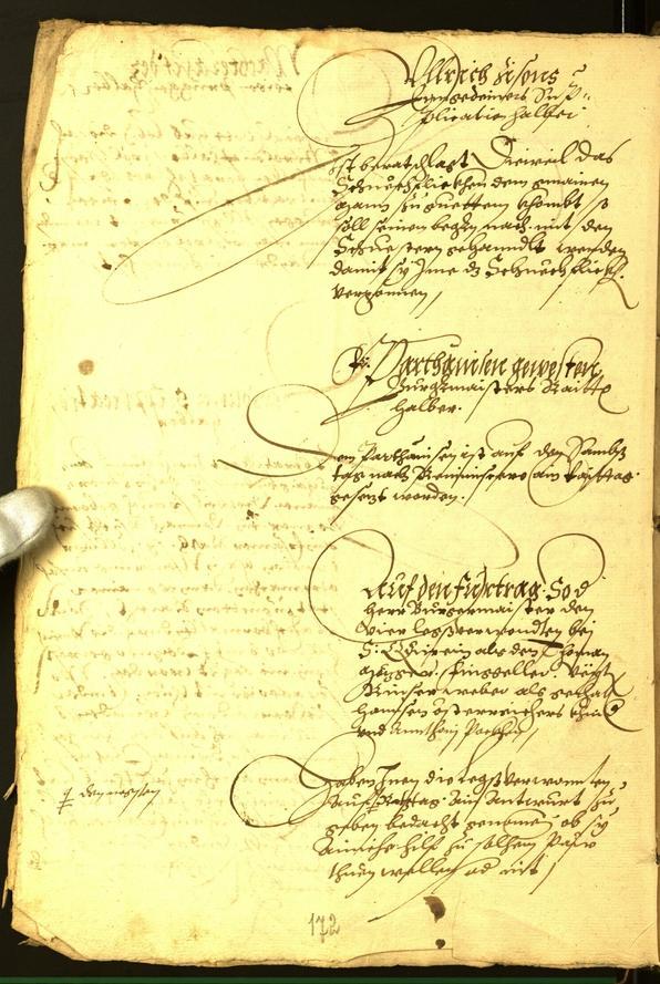 Archivio Storico della Città di Bolzano - BOhisto protocollo consiliare 1565