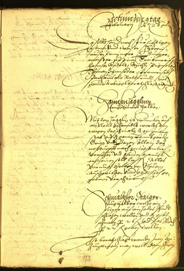 Civic Archives of Bozen-Bolzano - BOhisto Minutes of the council 1565