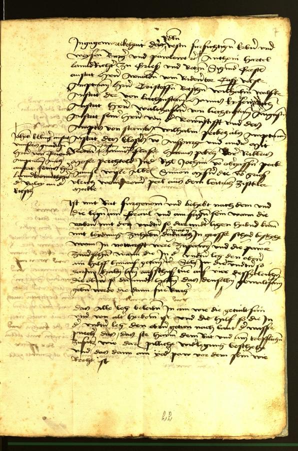 Stadtarchiv Bozen - BOhisto Ratsprotokoll 1472 fol. 7r