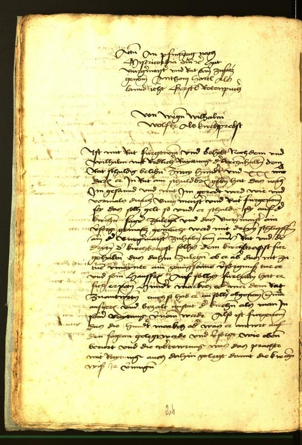 Stadtarchiv Bozen - BOhisto Ratsprotokoll 1472 fol. 8v
