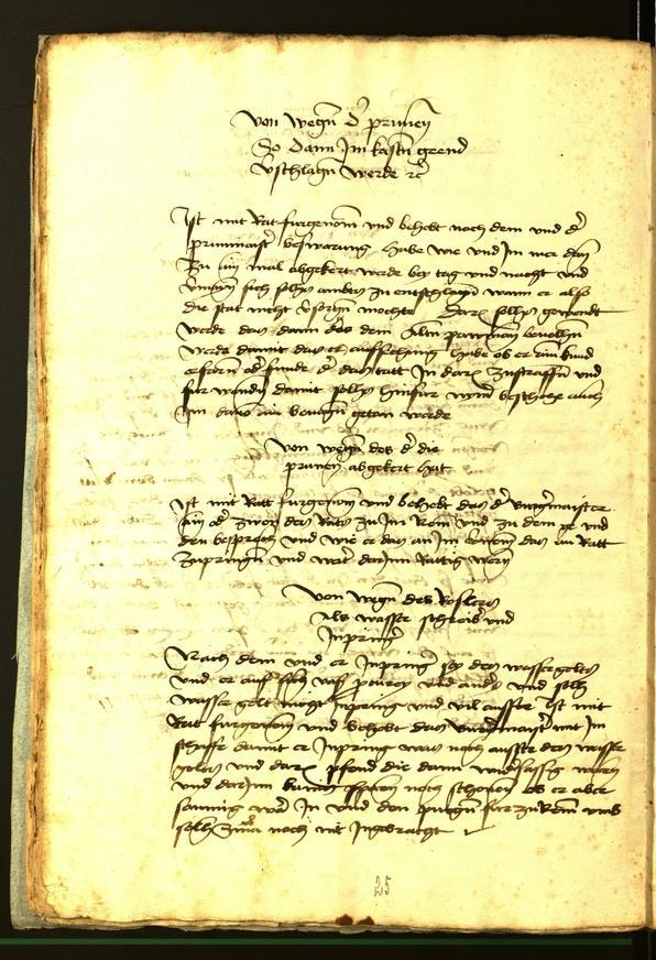 Stadtarchiv Bozen - BOhisto Ratsprotokoll 1472 fol. 9v