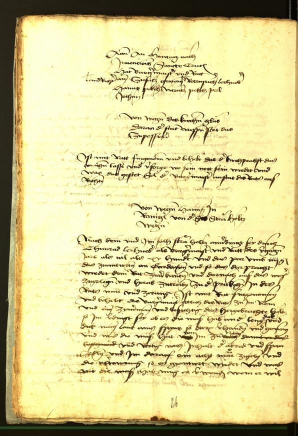 Stadtarchiv Bozen - BOhisto Ratsprotokoll 1472 fol. 10v