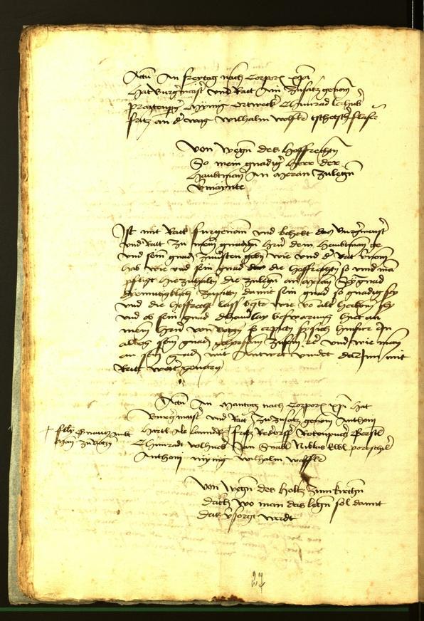 Stadtarchiv Bozen - BOhisto Ratsprotokoll 1472 fol. 11v