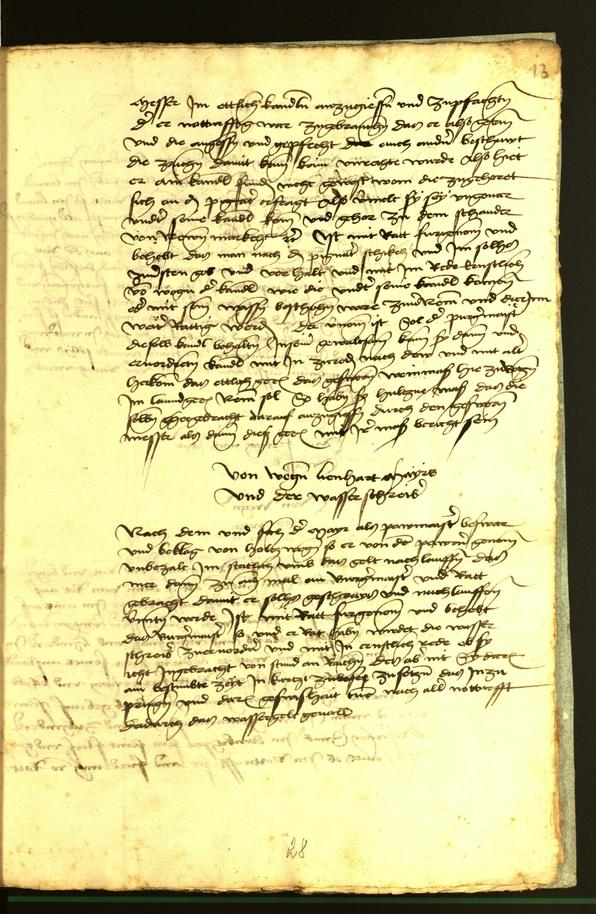 Stadtarchiv Bozen - BOhisto Ratsprotokoll 1472 fol. 13r