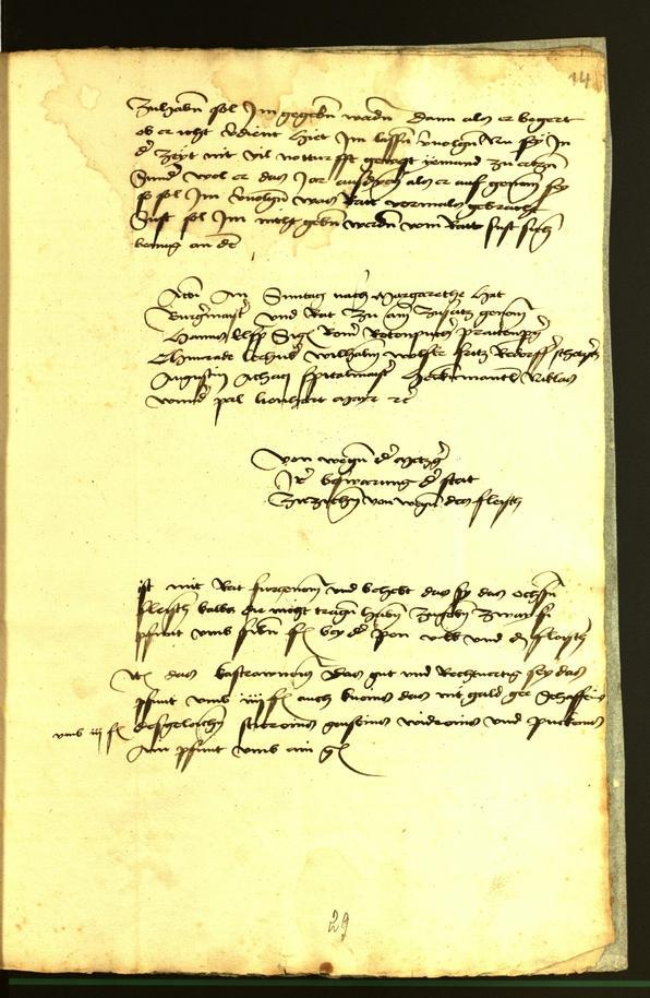 Stadtarchiv Bozen - BOhisto Ratsprotokoll 1472 fol. 14r