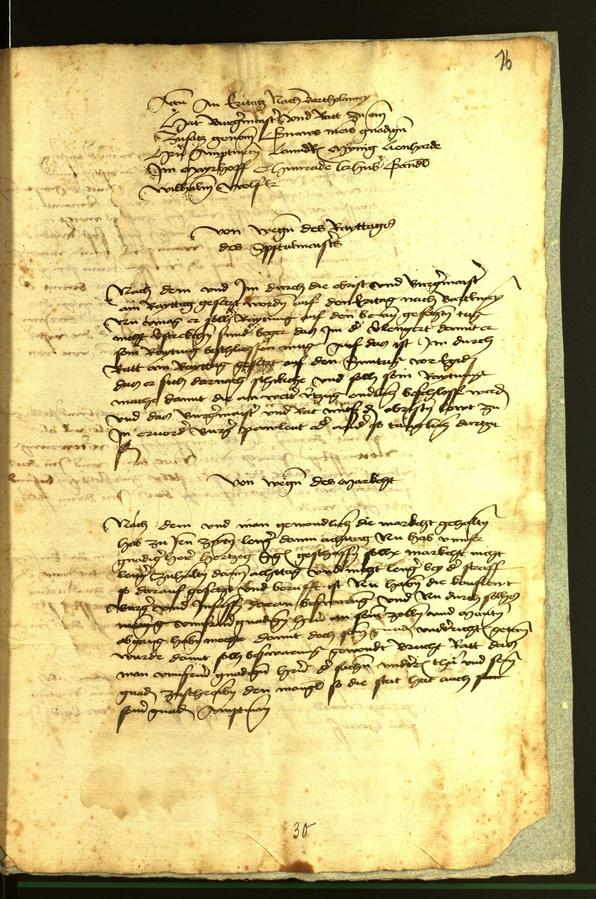 Archivio Storico della Città di Bolzano - BOhisto protocollo consiliare 1472 fol. 16r