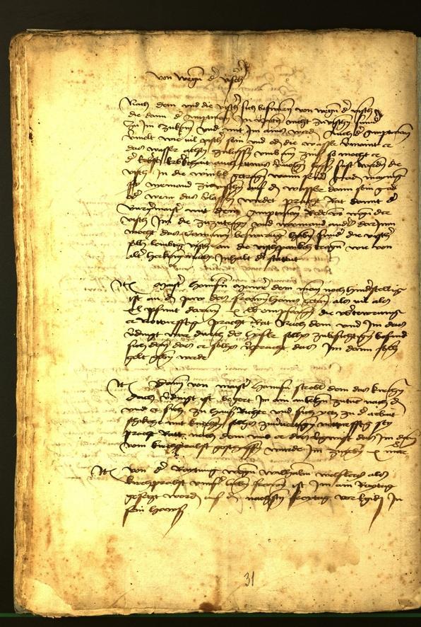 Stadtarchiv Bozen - BOhisto Ratsprotokoll 1472 fol. 16v