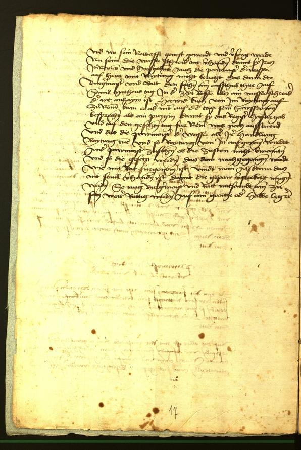 Archivio Storico della Città di Bolzano - BOhisto protocollo consiliare 1472 fol. 1v