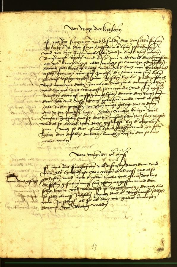 Stadtarchiv Bozen - BOhisto Ratsprotokoll 1472 fol. 4r