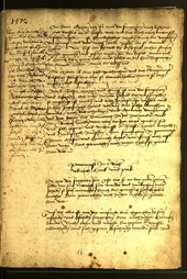 Civic Archives of Bozen-Bolzano - BOhisto Minutes of the council 1472 - fol. 1r
