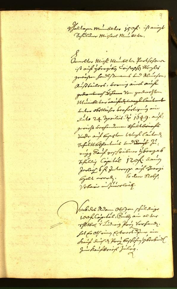 Stadtarchiv Bozen - BOhisto Ratsprotokoll 1584
