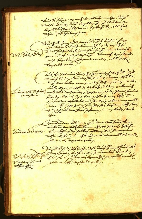 Civic Archives of Bozen-Bolzano - BOhisto Minutes of the council 1584