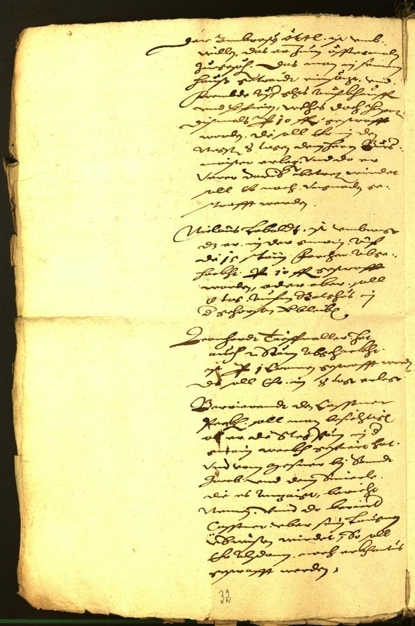 Civic Archives of Bozen-Bolzano - BOhisto Minutes of the council 1587