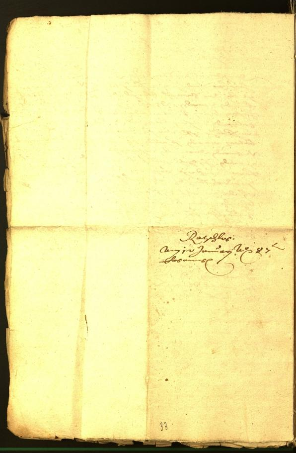 Civic Archives of Bozen-Bolzano - BOhisto Minutes of the council 1587