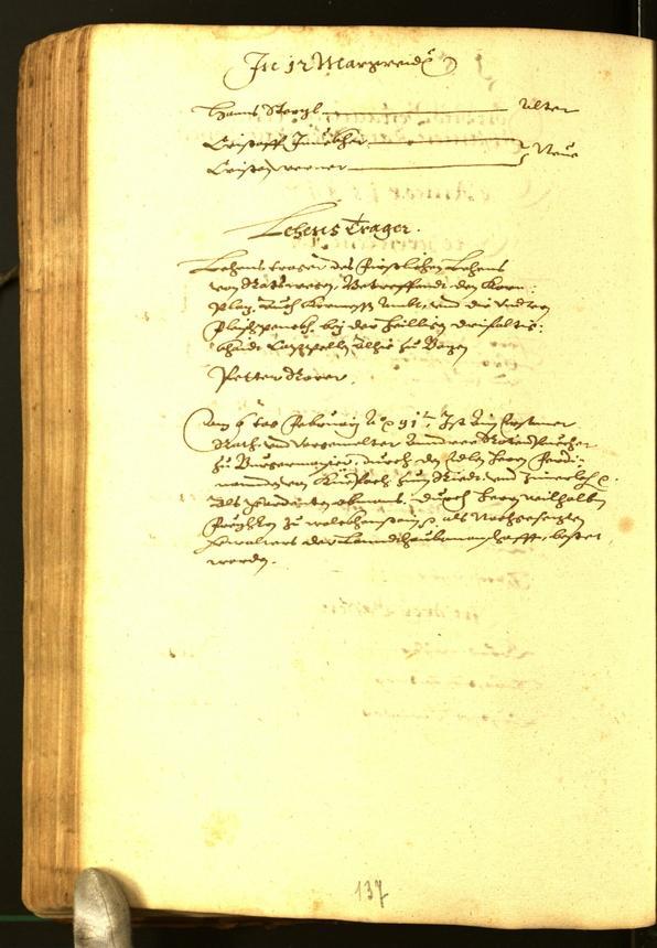 Stadtarchiv Bozen - BOhisto Ratsprotokoll 1591
