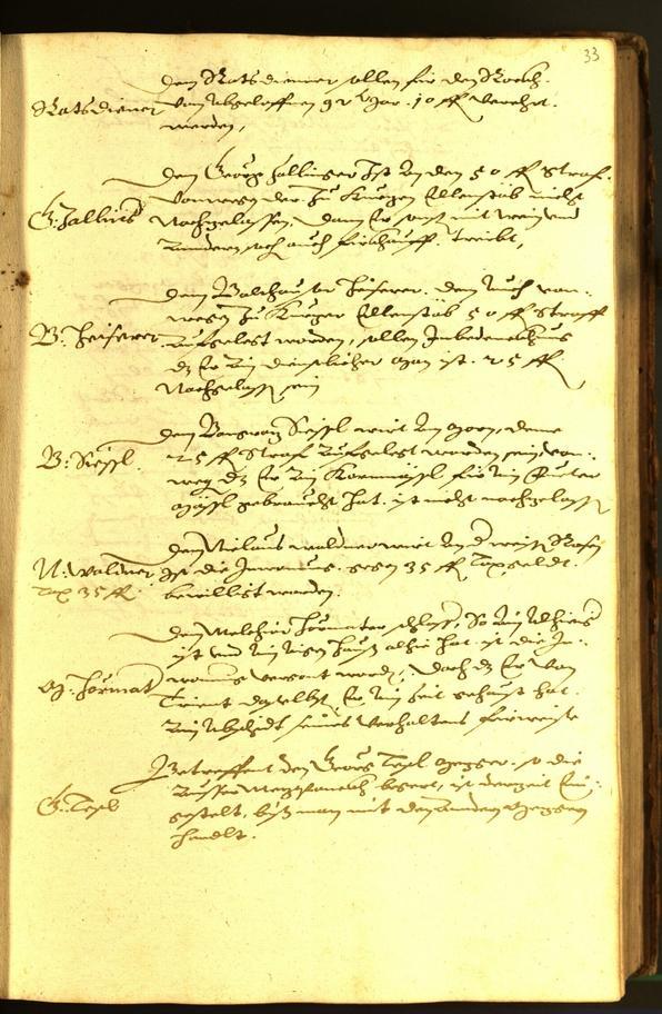 Stadtarchiv Bozen - BOhisto Ratsprotokoll 1593