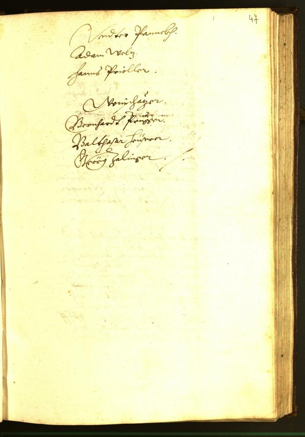 Civic Archives of Bozen-Bolzano - BOhisto Minutes of the council 1595