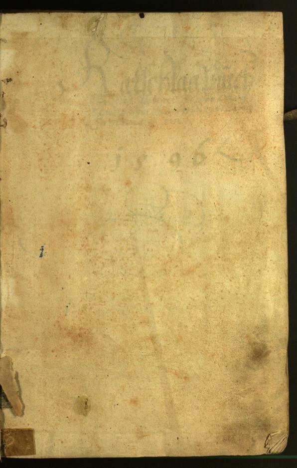 Stadtarchiv Bozen - BOhisto Ratsprotokoll 1596