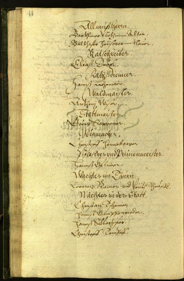 Stadtarchiv Bozen - BOhisto Ratsprotokoll 1599