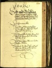 Civic Archives of Bozen-Bolzano - BOhisto Minutes of the council 1601 -