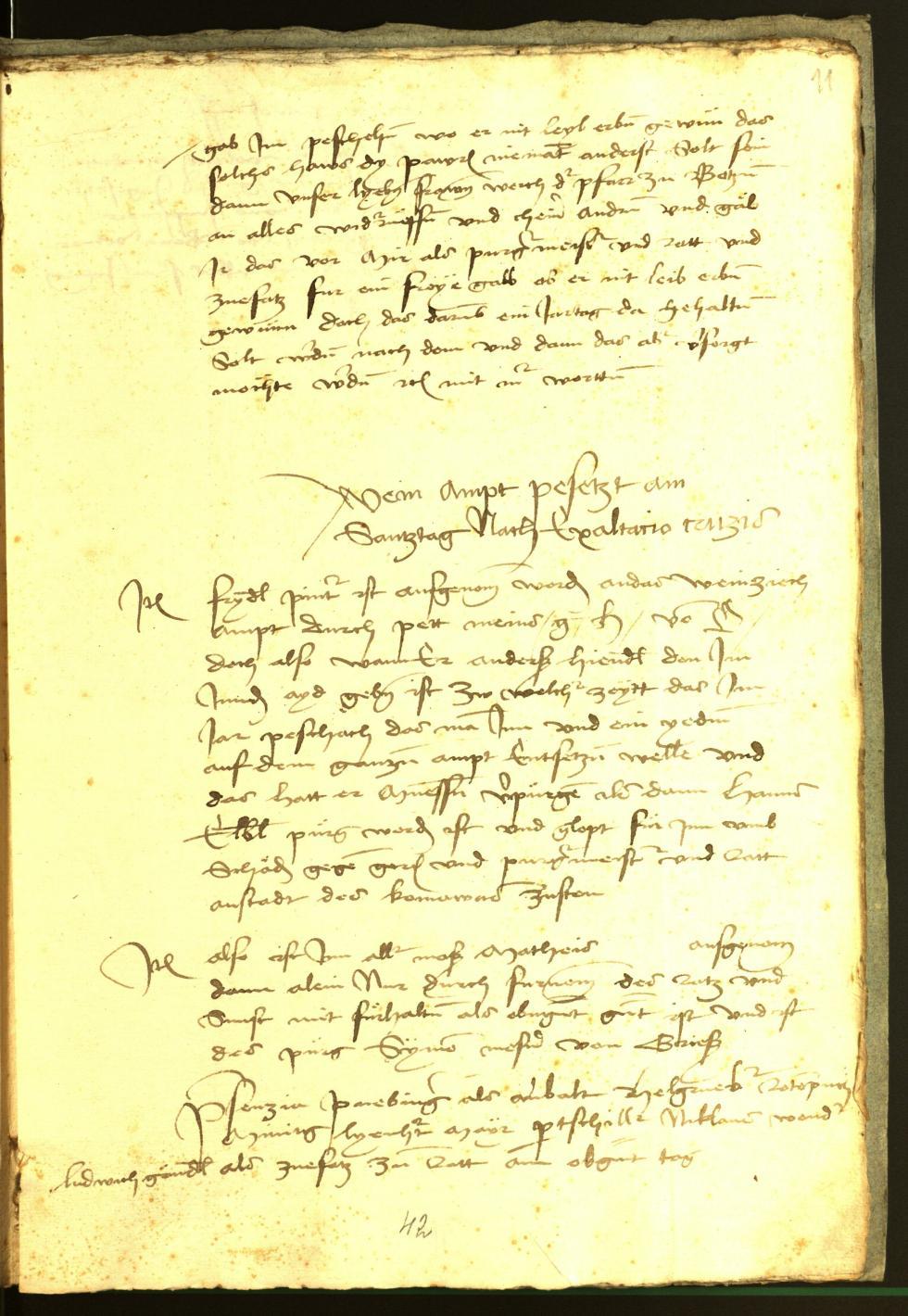 Stadtarchiv Bozen - BOhisto Ratsprotokoll 1474