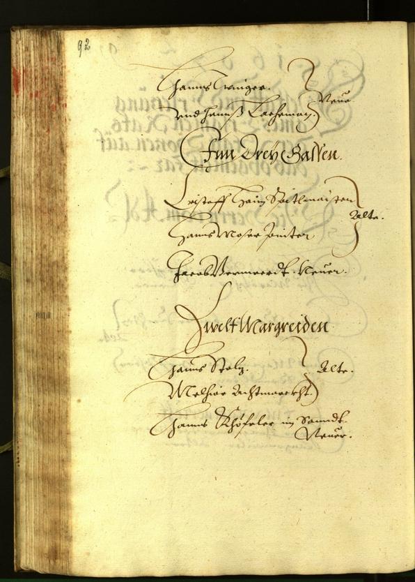 Civic Archives of Bozen-Bolzano - BOhisto Minutes of the council 1607