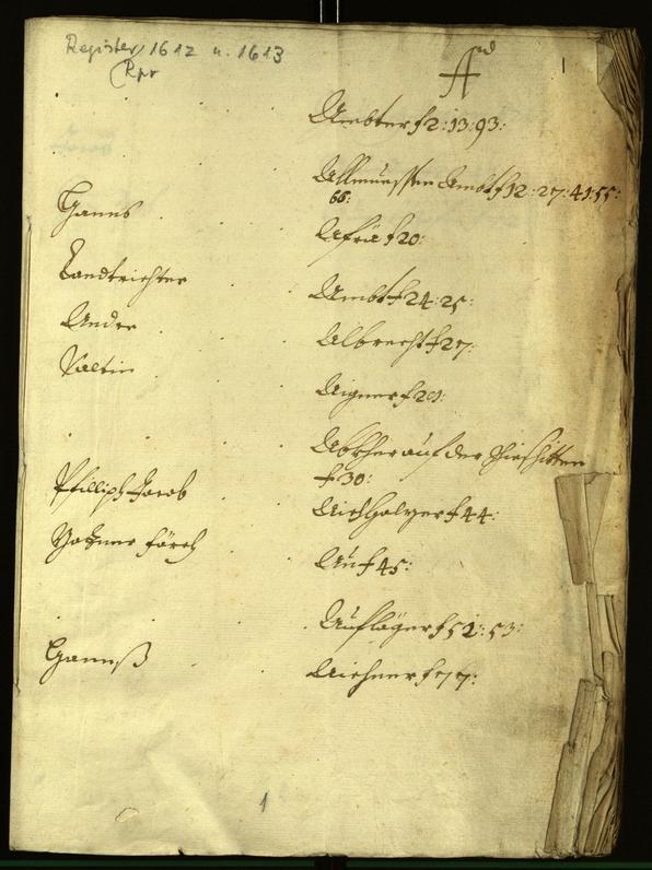 Civic Archives of Bozen-Bolzano - BOhisto Minutes of the council 1608/09