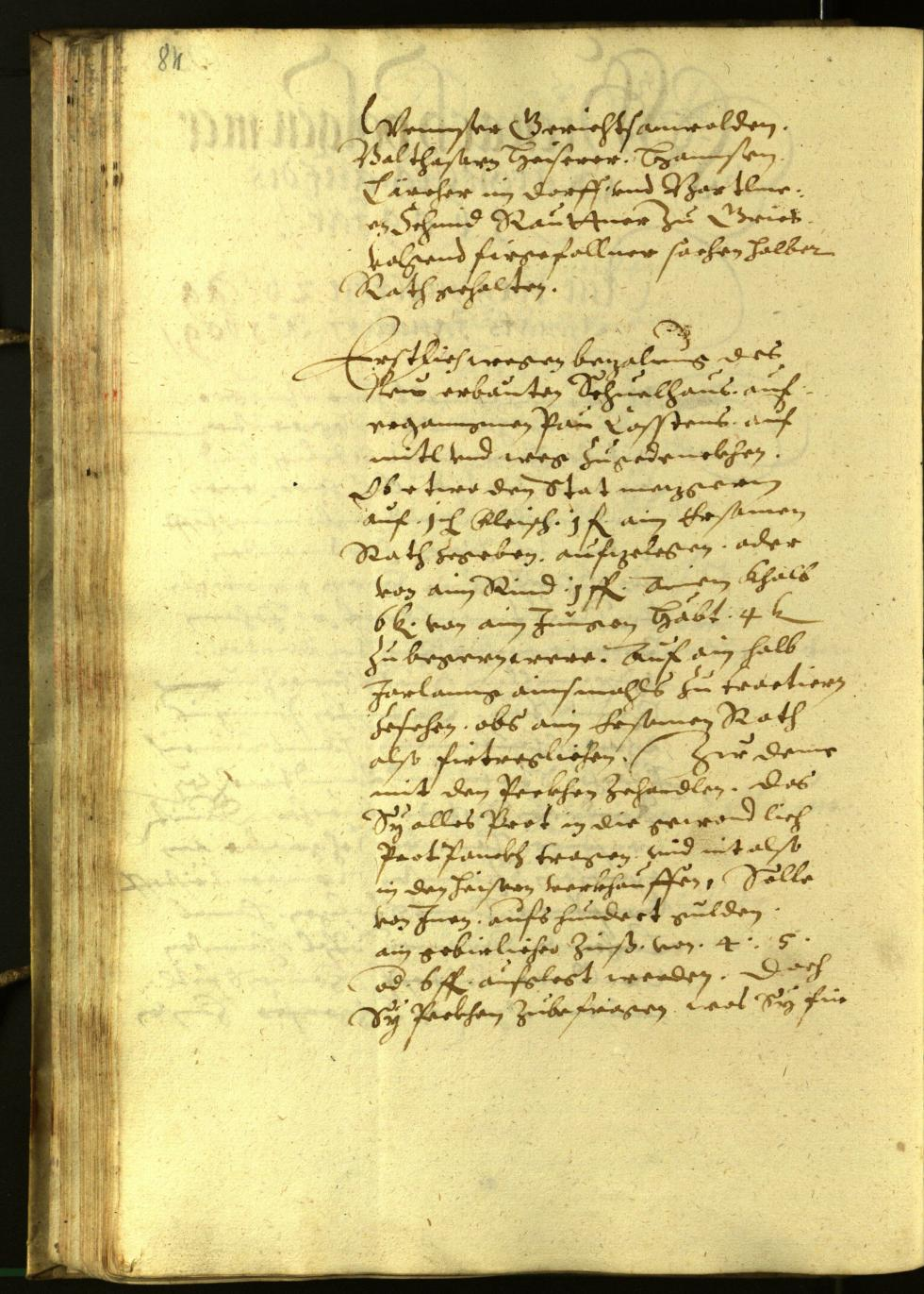 Civic Archives of Bozen-Bolzano - BOhisto Minutes of the council 1609