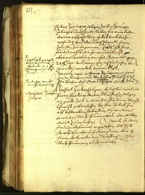Stadtarchiv Bozen - BOhisto Ratsprotokoll 1614