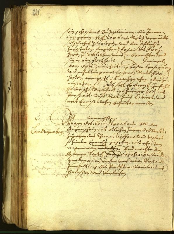 Civic Archives of Bozen-Bolzano - BOhisto Minutes of the council 1614