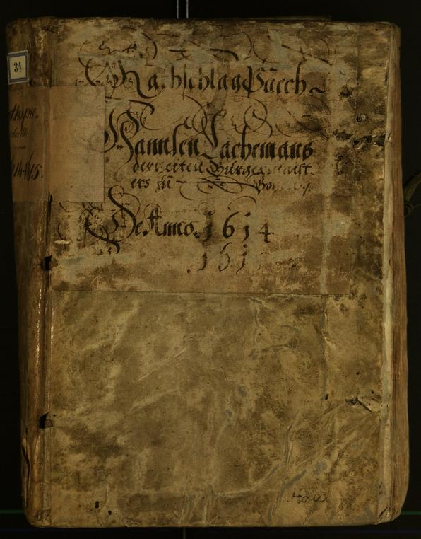 Civic Archives of Bozen-Bolzano - BOhisto Minutes of the council 1614