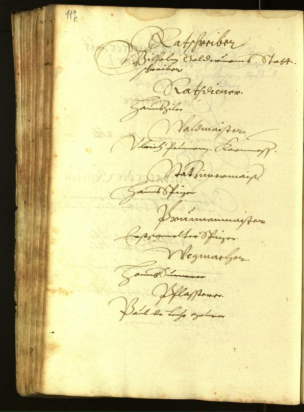 Civic Archives of Bozen-Bolzano - BOhisto Minutes of the council 1615