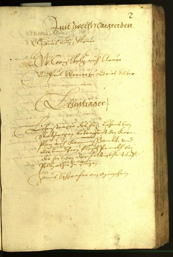 Civic Archives of Bozen-Bolzano - BOhisto Minutes of the council 1618