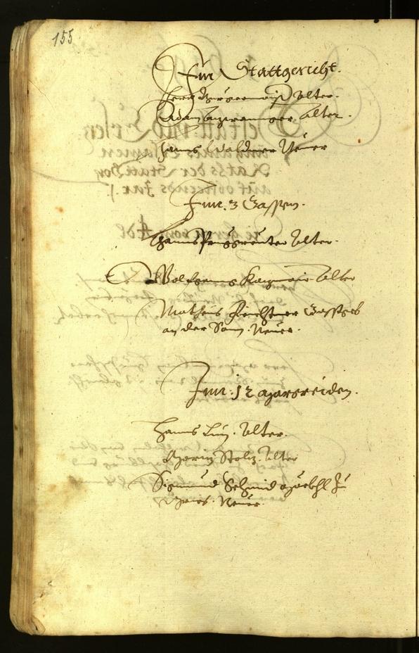 Stadtarchiv Bozen - BOhisto Ratsprotokoll 1619