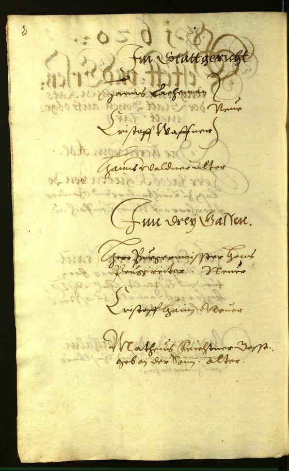 Civic Archives of Bozen-Bolzano - BOhisto Minutes of the council 1620