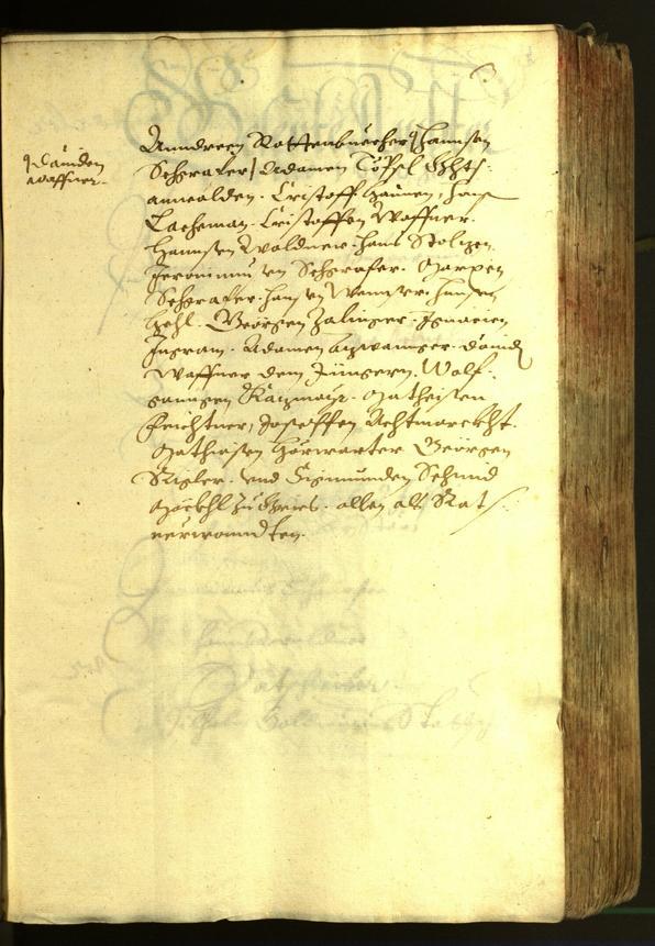 Stadtarchiv Bozen - BOhisto Ratsprotokoll 1620