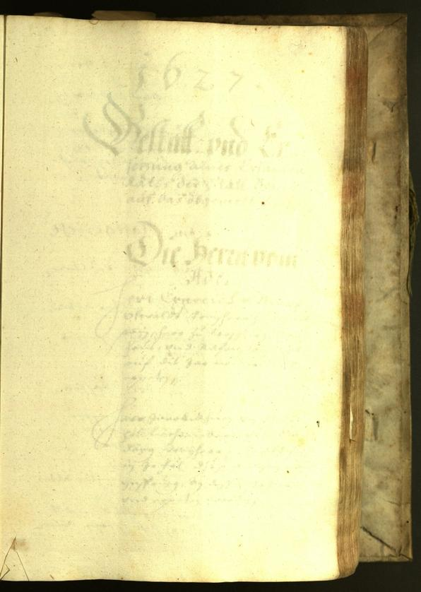 Civic Archives of Bozen-Bolzano - BOhisto Minutes of the council 1626