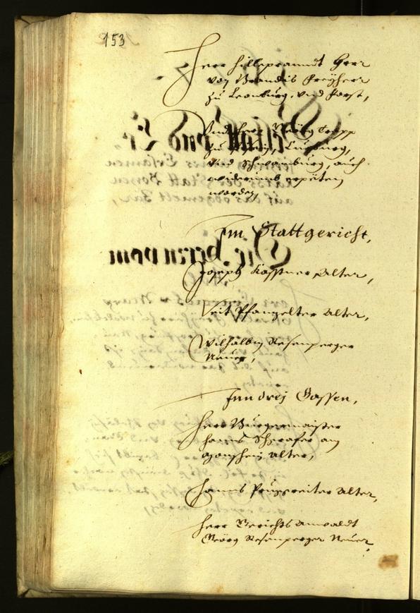 Stadtarchiv Bozen - BOhisto Ratsprotokoll 1627