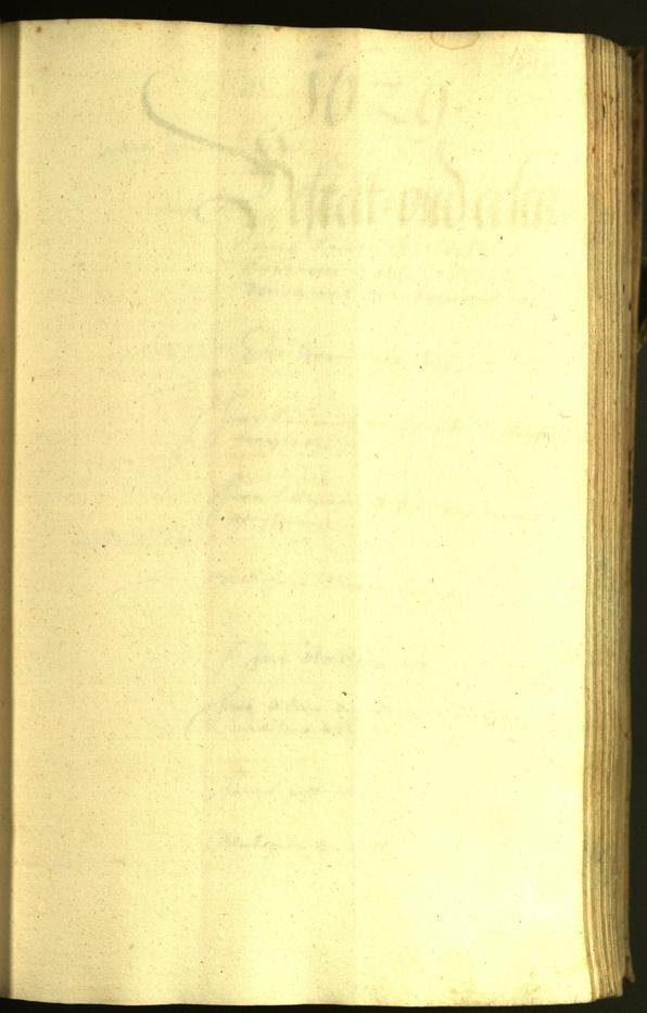 Stadtarchiv Bozen - BOhisto Ratsprotokoll 1628