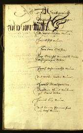 Stadtarchiv Bozen - BOhisto Ratsprotokoll 1628 -