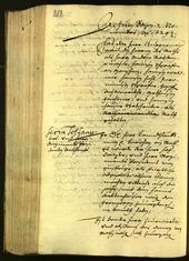 Stadtarchiv Bozen - BOhisto Ratsprotokoll 1629 -