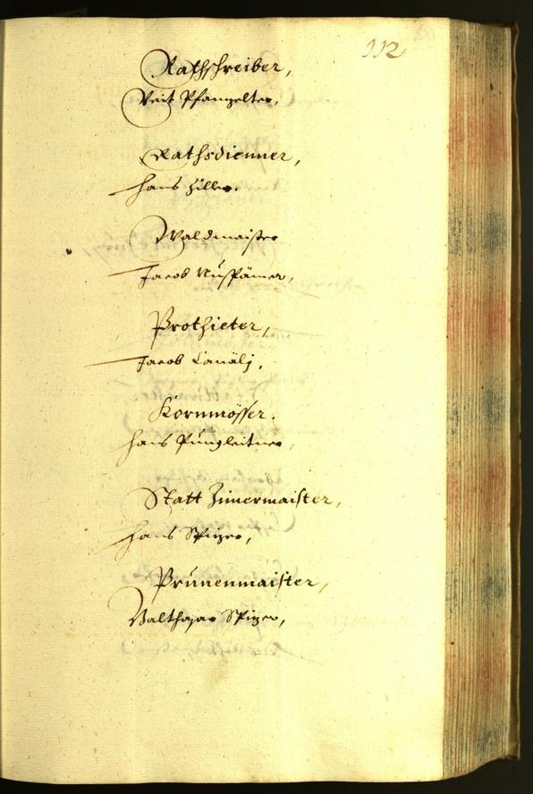 Civic Archives of Bozen-Bolzano - BOhisto Minutes of the council 1633