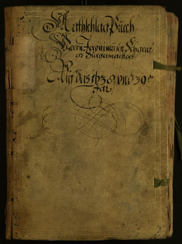 Civic Archives of Bozen-Bolzano - BOhisto Minutes of the council 1638
