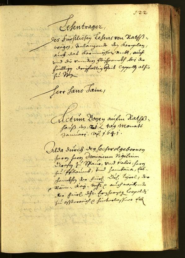 Civic Archives of Bozen-Bolzano - BOhisto Minutes of the council 1641