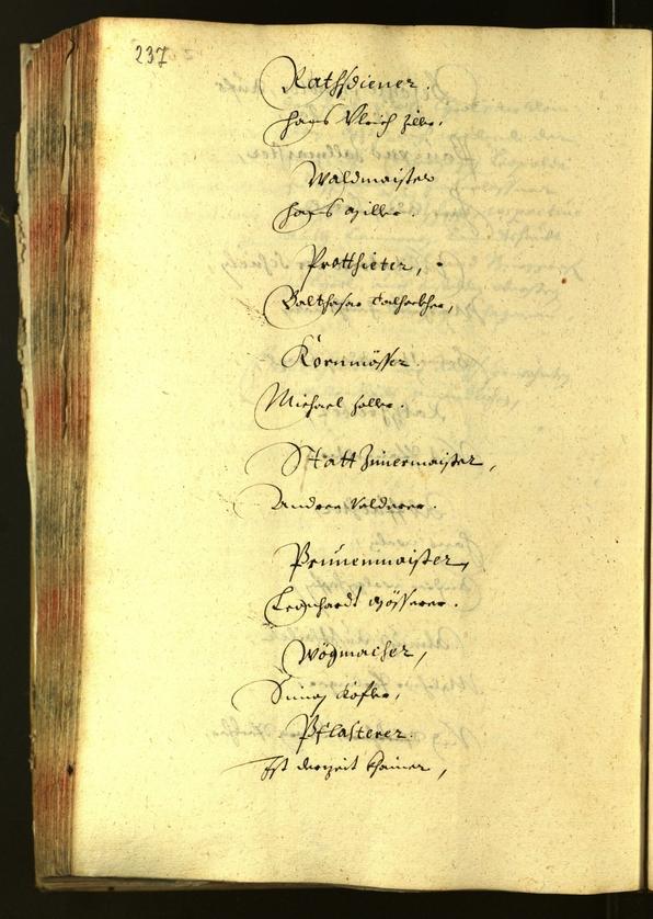 Civic Archives of Bozen-Bolzano - BOhisto Minutes of the council 1642