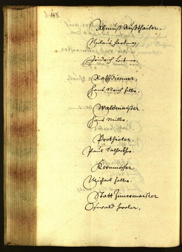 Civic Archives of Bozen-Bolzano - BOhisto Minutes of the council 1644